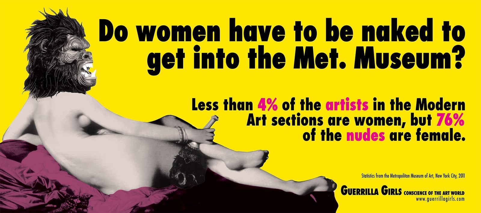 Do Women Have To Be Naked To Get Into The Met. Museum