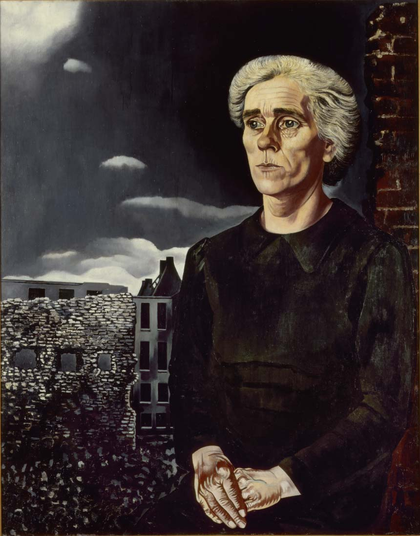 Charley Toorop, Working-Class Woman, 1943