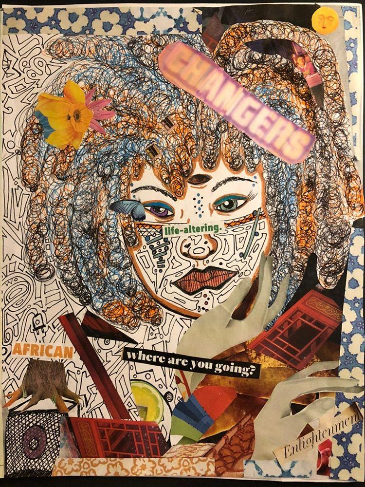 Life-altering by La'Nora Boror (2020). Exhibited in Curating the End of the World online exhibition by New York Live Arts; Courtesy of the artist.
