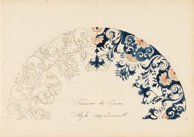 Alida Kromhout, Schetsboek Cursus Rijksschool voor Kunstnijverheid, 1893.